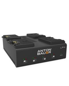 Anton Bauer LP4 Quad Gold-Mount Battery Charger