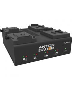 Anton Bauer LP4 Quad V-Mount Battery Charger