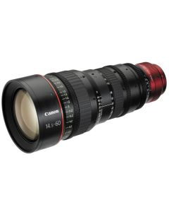 Canon CN-E 14.5-60mm T2.6 L S Cinema Zoom Lens with PL Mount