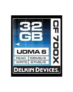 Delkin Compact Flash Card 700X 64GB