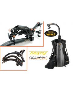 """Easyrig Vario 5 - Gimbal Rig Vest and 5"""" Extended Arm with Flowcine Serene Preinstalled and Flowcine Gravity One"""
