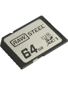 Hoodman 64GB SDXC Memory Card RAW STEEL Class 10 UHS-