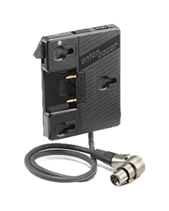 "Anton/Bauer QR-UNIV Universal Gold Mount Battery Adapter - 20"" 4-Pin XLR Cable"