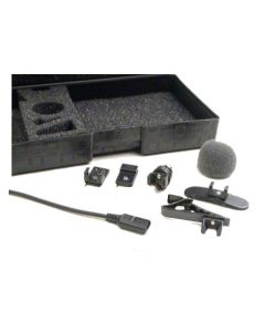 TRAM LAVALIER MIC WITH TA5F LECTROSONICS CONNECTOR(BLACK)