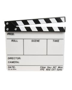 High Quality Clapboard - Lucite
